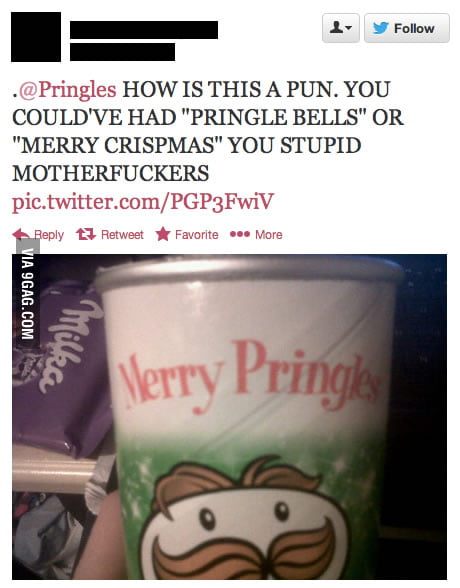 Stupid Pringles!