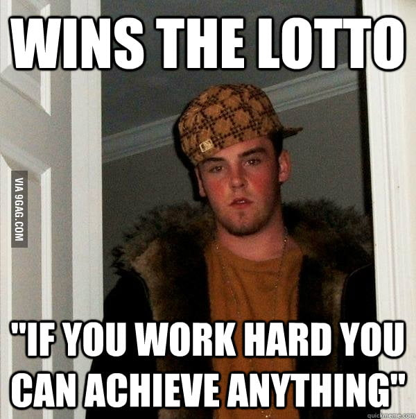 Life lessons from Scumbag Steve.