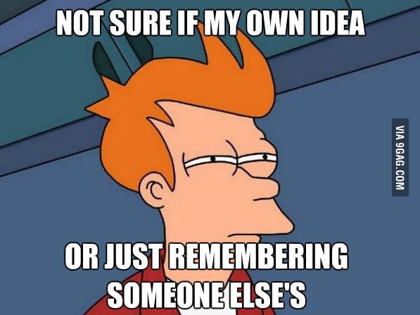 When an unusually brilliant idea pops into my head.