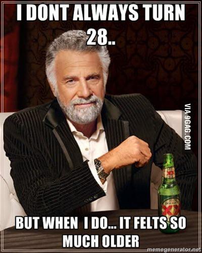 I feel like 52..
