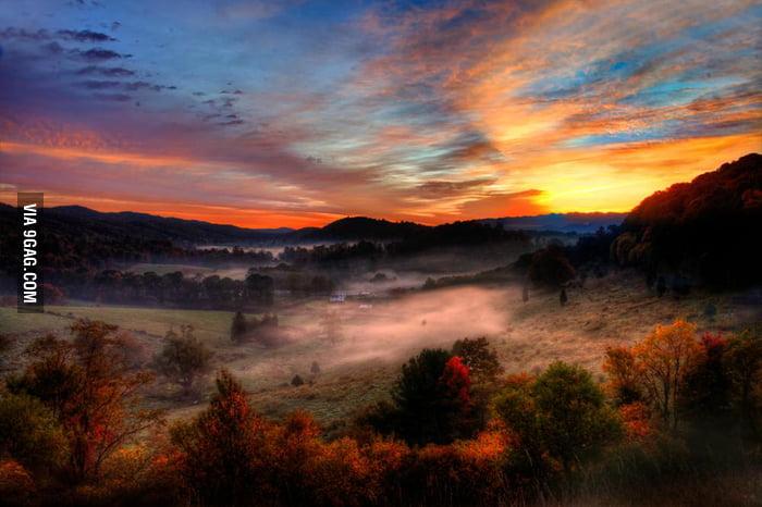 I love the fall in Pennsylvania.