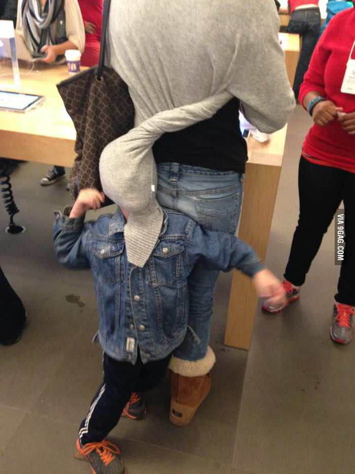 This is happening right now at the Apple Store
