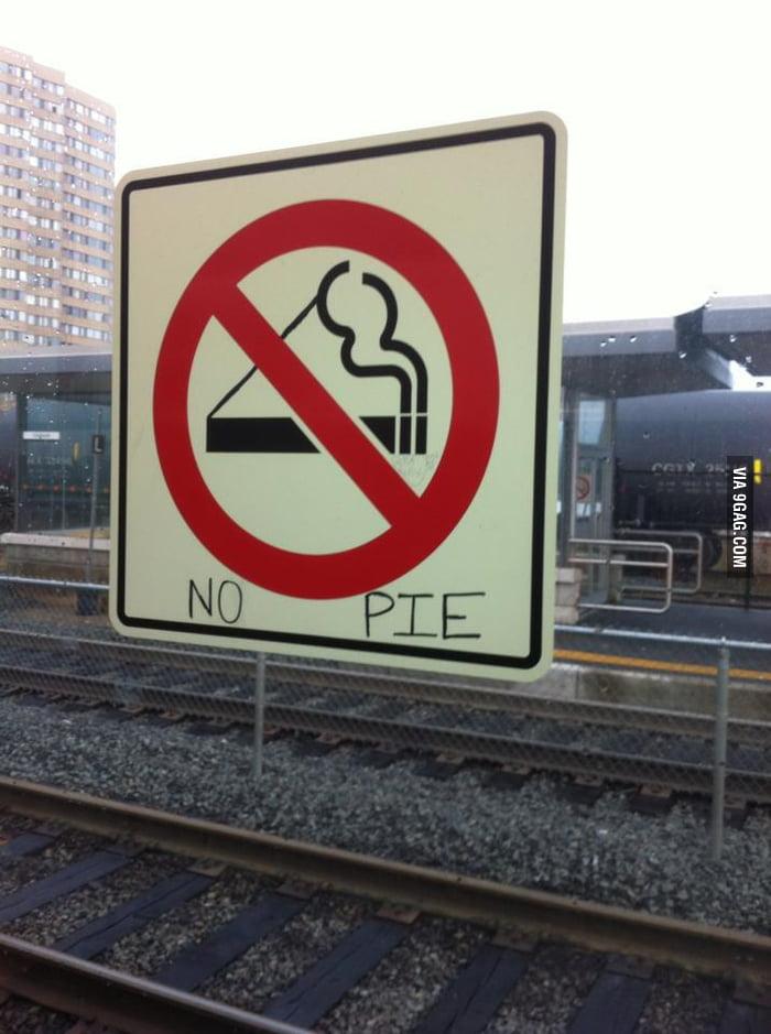 No pie.