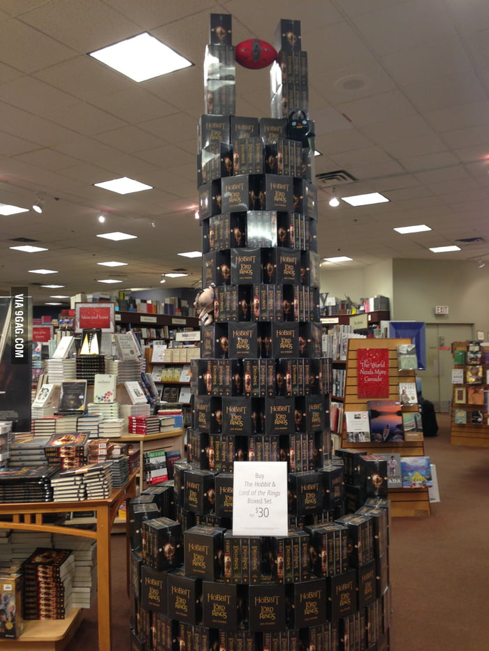 Saw the Eye of Sauron at a local bookstore.