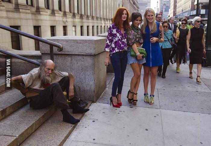 Big Contrast in New York Fashion Week