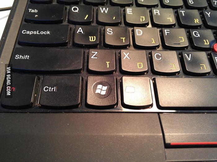 I hate my new laptop. It feels like I'm loosing Ctrl