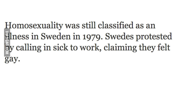 Badass Swedish Protester
