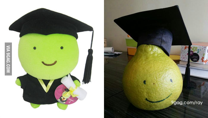 My friend want this doll for graduation... Close enough!