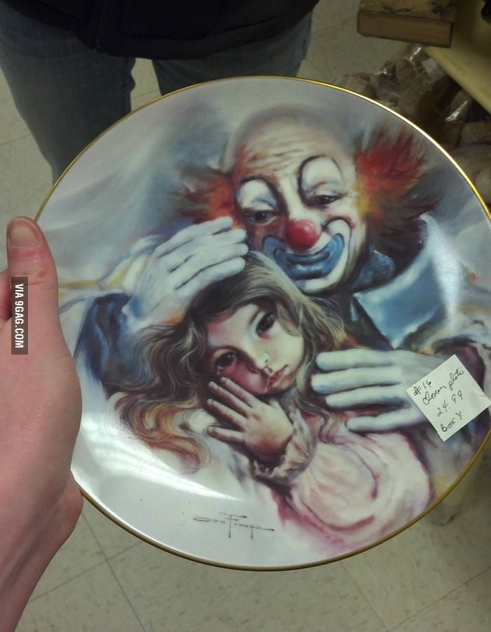Found this plate at an antique mall down in Georgia.