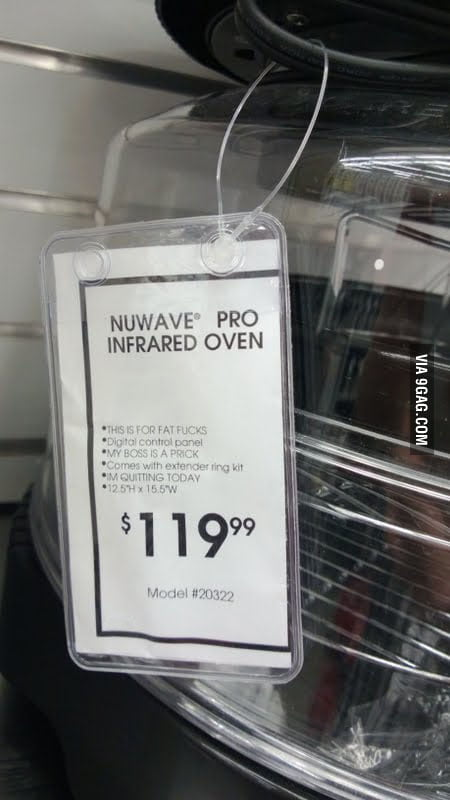 Nuwave Pro Infrared Oven - This is for fat f**ks.