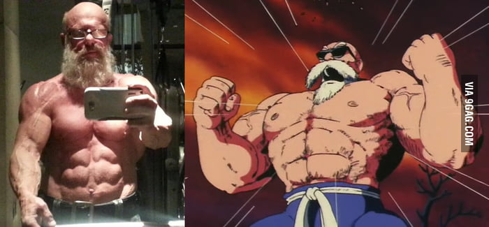 We've found Roshi!