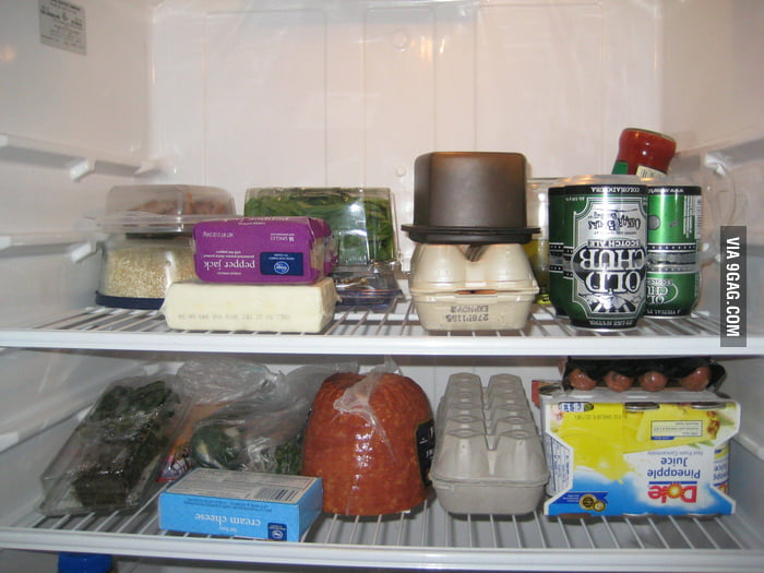 A friend came to visit from Australia. My fridge is ready.