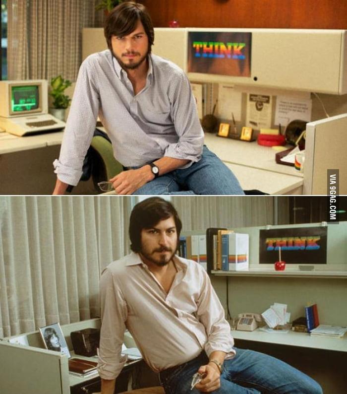 Ashton Kutcher / Steve Jobs