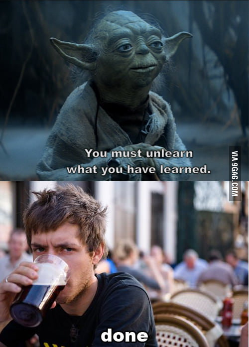 He would be an excellent Jedi
