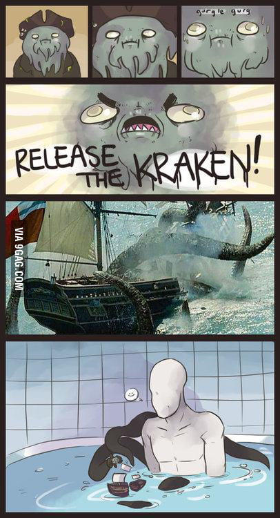 So, the kraken was him