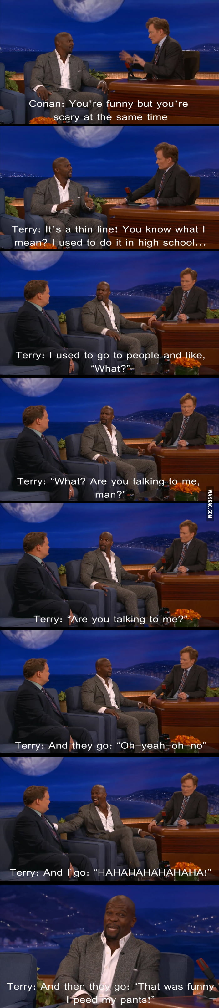 Terry Crews has Superhero Powers
