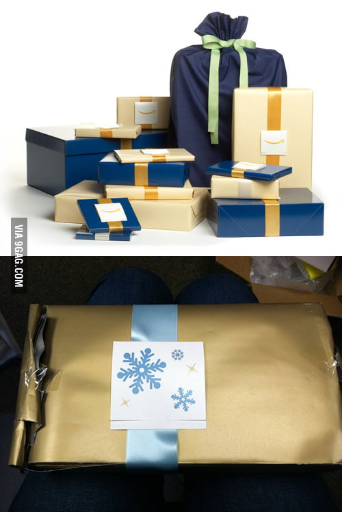The $3.99 gift wrap option on Amazon.