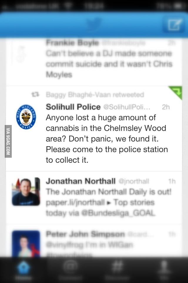 Policing at its finest!