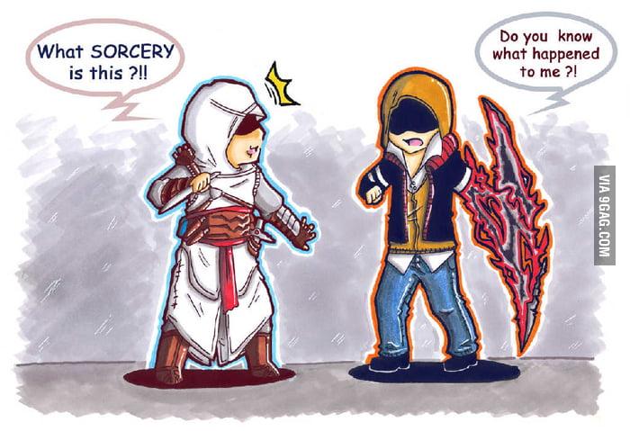 Altair Meets Alex Mercer