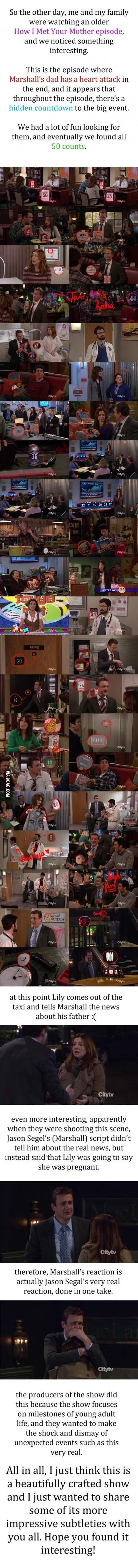 Hidden Countdown in 'How I Met Your Mother'