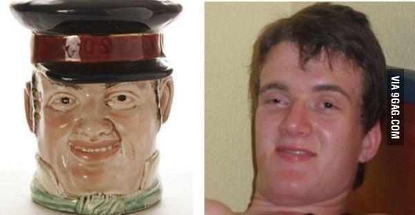No wonder he looks so familiar