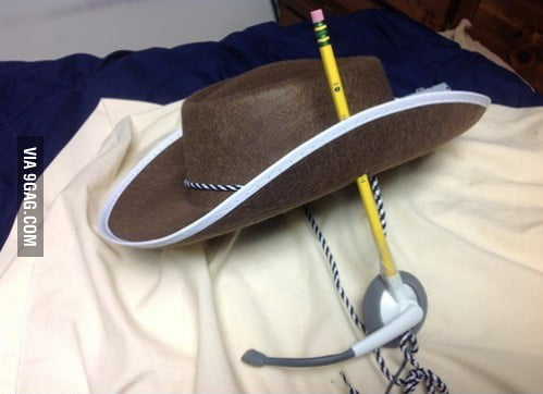 Repairing the earphone like a cowboy!