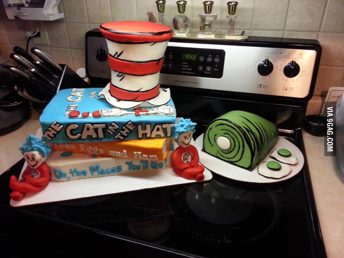 Dr. Suess cake!