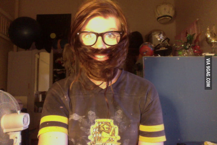 A good use of long hair.
