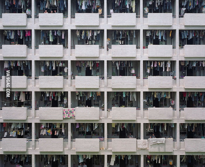 Where Chinese factory workers live.
