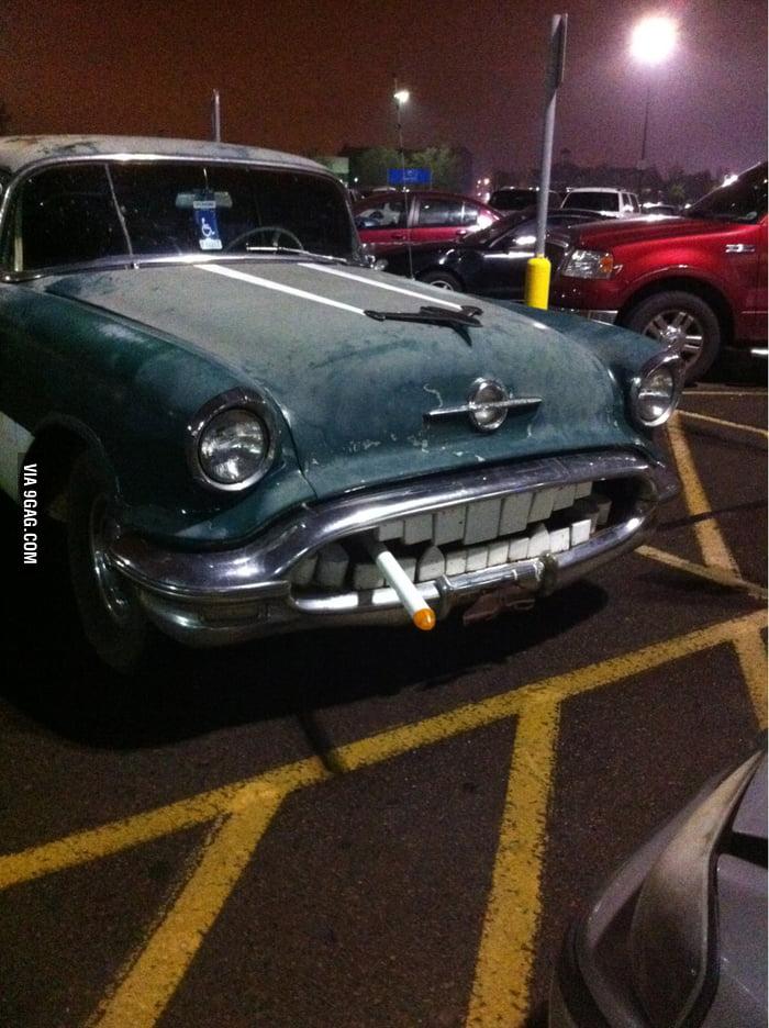 This car looks pretty badass.