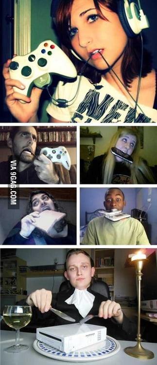 Hardcore gamers