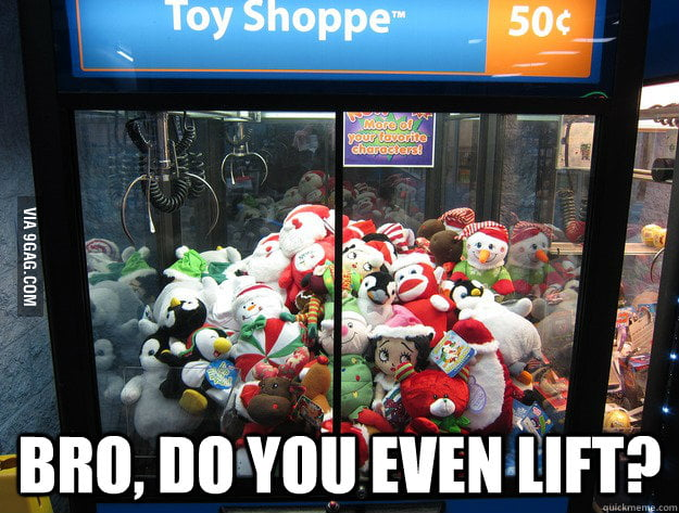Every time I play the claw machine, I can't help but wonder.