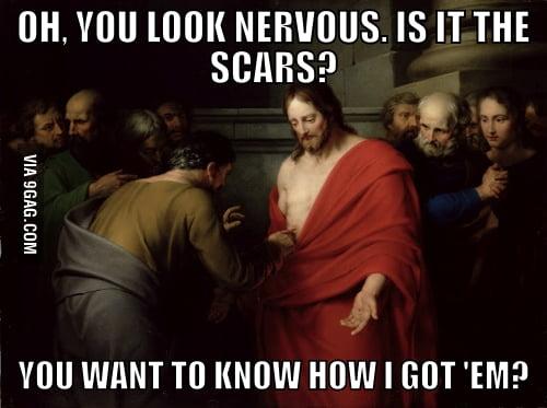 Jesus Scars