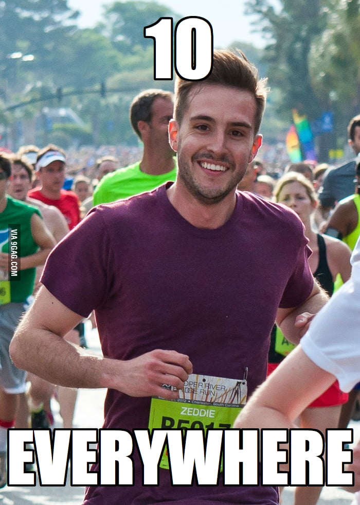 Ridiculously Photogenic Guy in everyone's eyes.