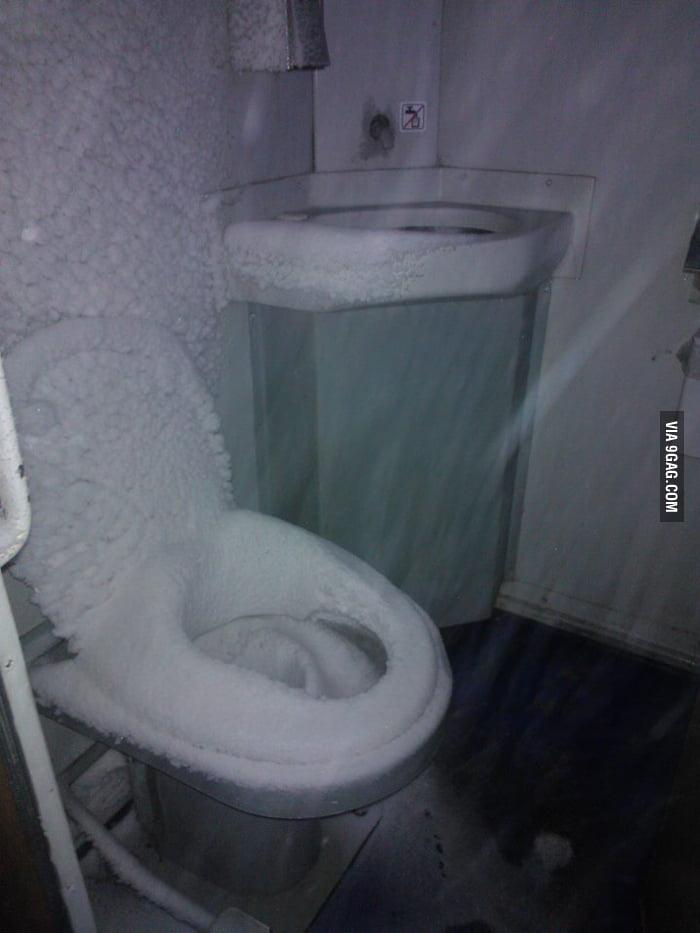 The Frozen Throne in a Polish train.