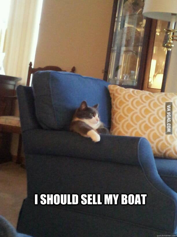 One summer of owning a boat.