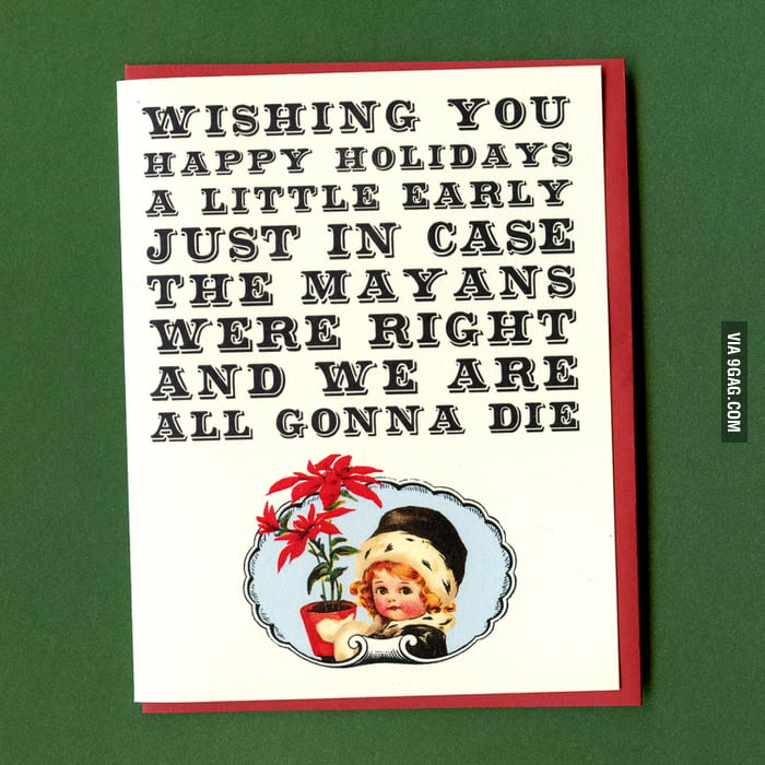 Sent out my holiday cards early this year.