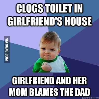 No wonder my girlfriend's dad hates me.