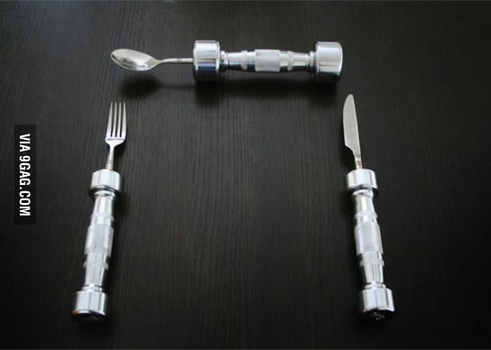 Eat Fit Cutlery - solving obesity one meal at a time.