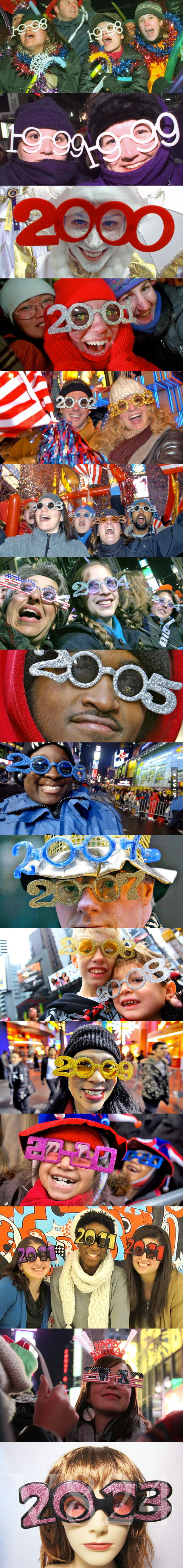 New Year Glasses (1998 - 2013)