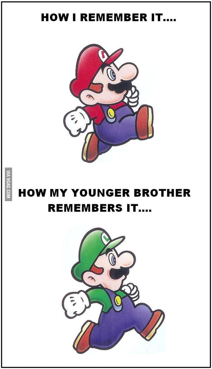 Good old times... Super Mario Bros.