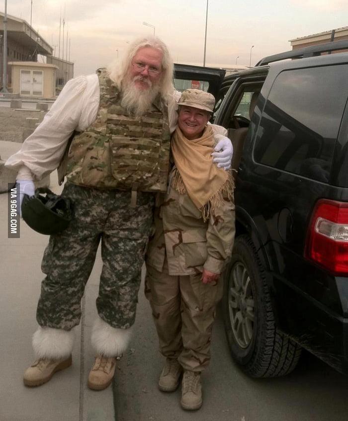 Combat Santa