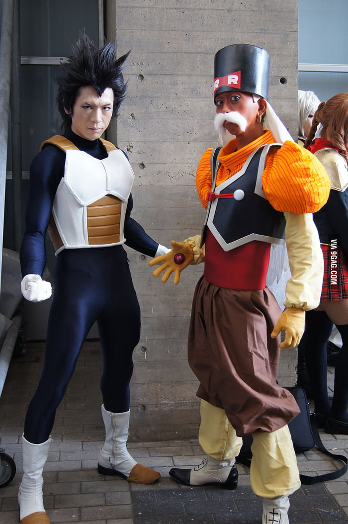 Awesome Vegeta cosplay - 9GAG