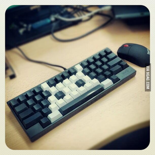 Space Invaders Keyboard