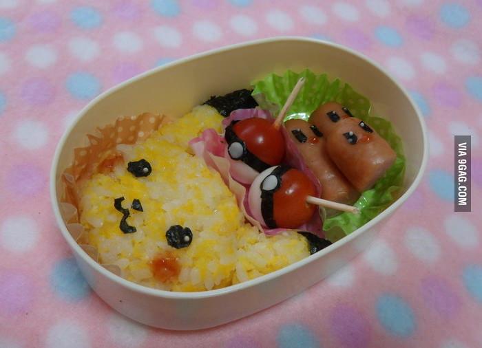 Pikachu Bento Box