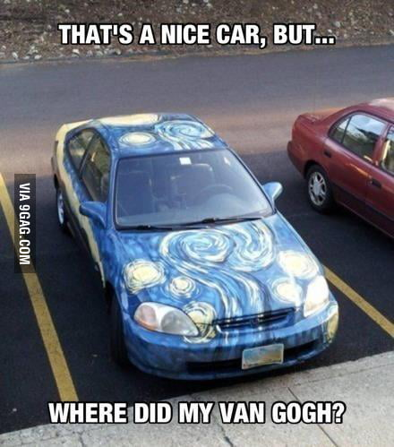 Where did my Van Gogh?