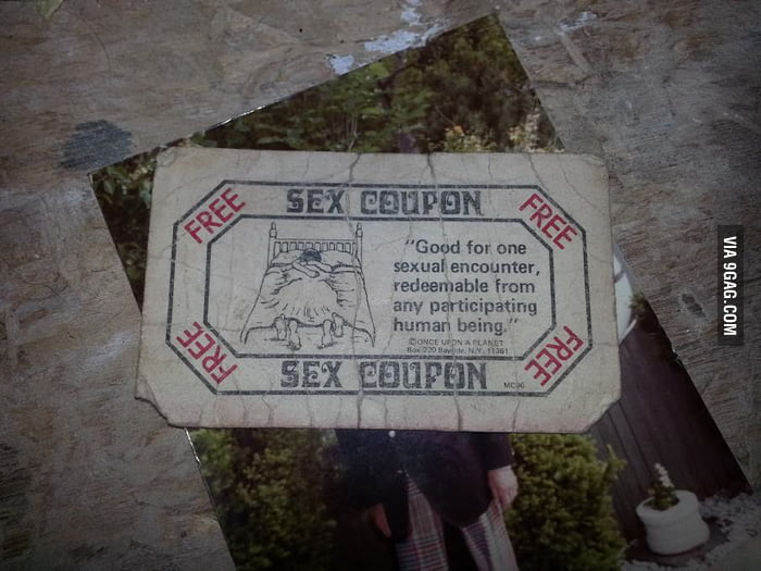 Can I redeem this sex coupon?