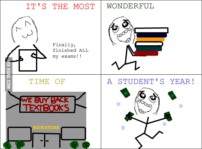 The most wonderful time of a student's year!