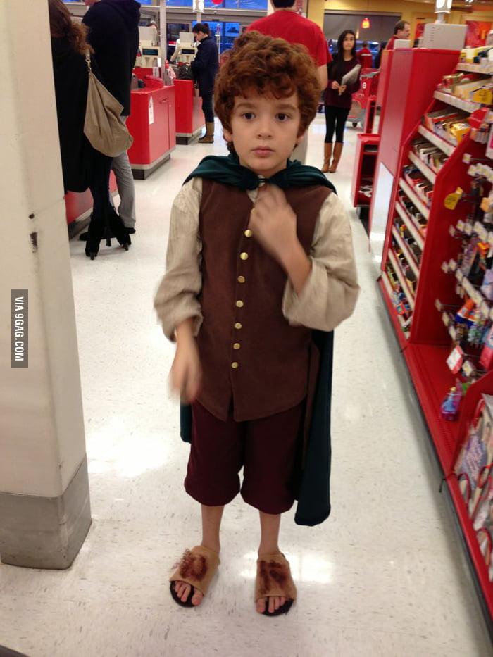 Found a Hobbit at the supermarket.