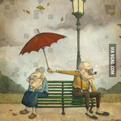 Love is caring for other even when you are angry.